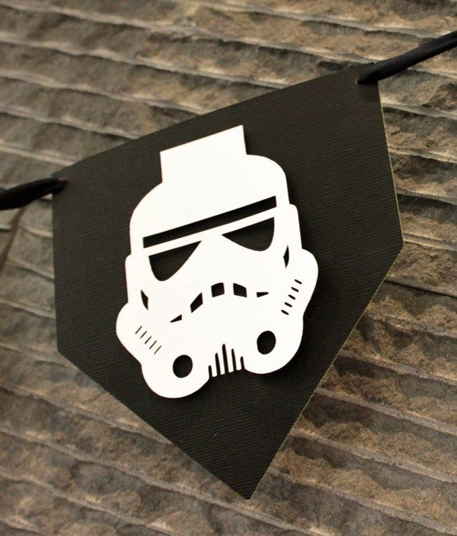 May The 4th Be With You Birthday: DIY May The 4th Be With You Star Wars Banner