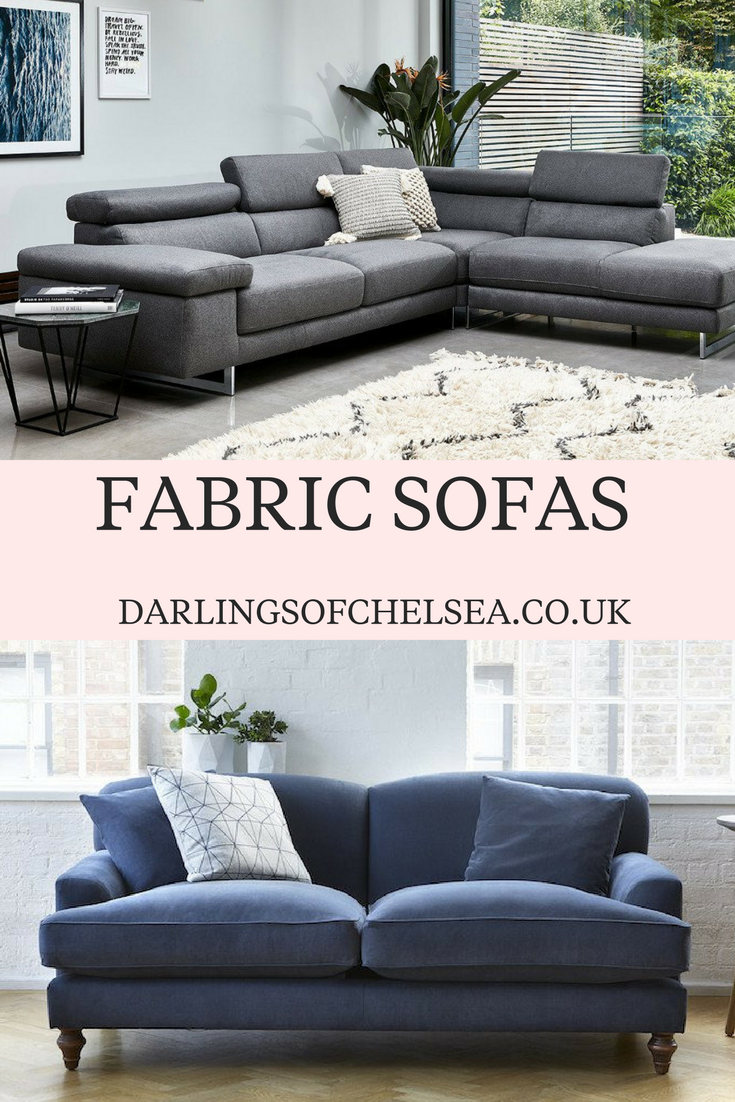 these modern contemporary fabric sofas have the added feature of