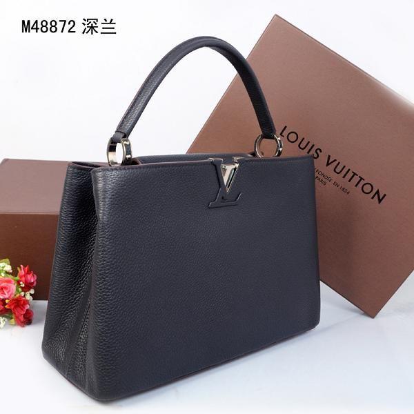 2014 louis vuitton handbags | Hot 2014 louis vuitton capucines bag mm m48864 black online buy.
