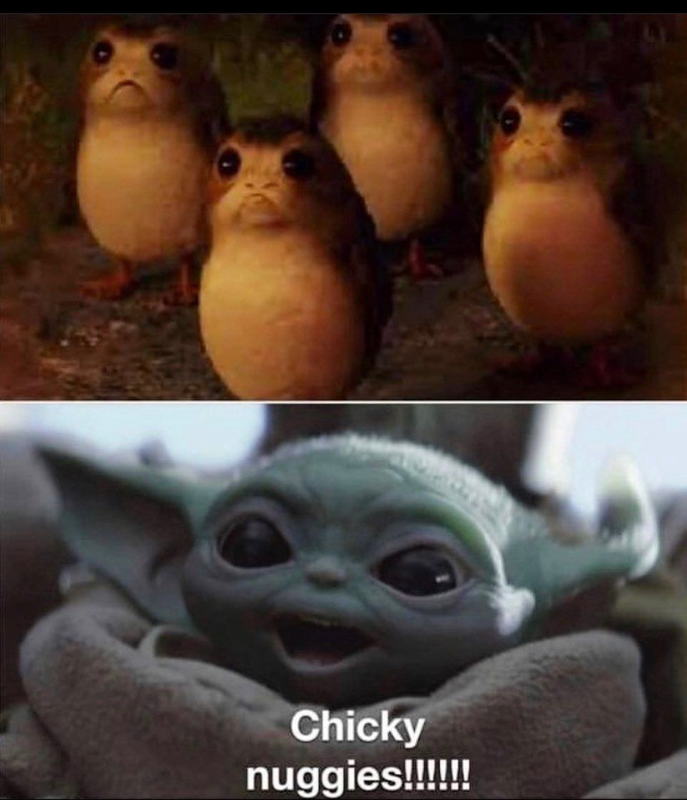 Baby Yoda On Instagram Eat Them All I Will Babyyodawallpaper Baby Yoda On Instagram Eat Them All I Will Star Wars Jokes Yoda Funny Yoda Meme