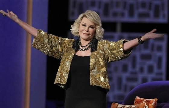 #RIP Joan Rivers @NBCNews: BREAKING: Joan Rivers, comedy legend and TV host, dies at 81 http://nbcnews.to/1lD1UEJ  pic.twitter.com/I5XwG5NLrk