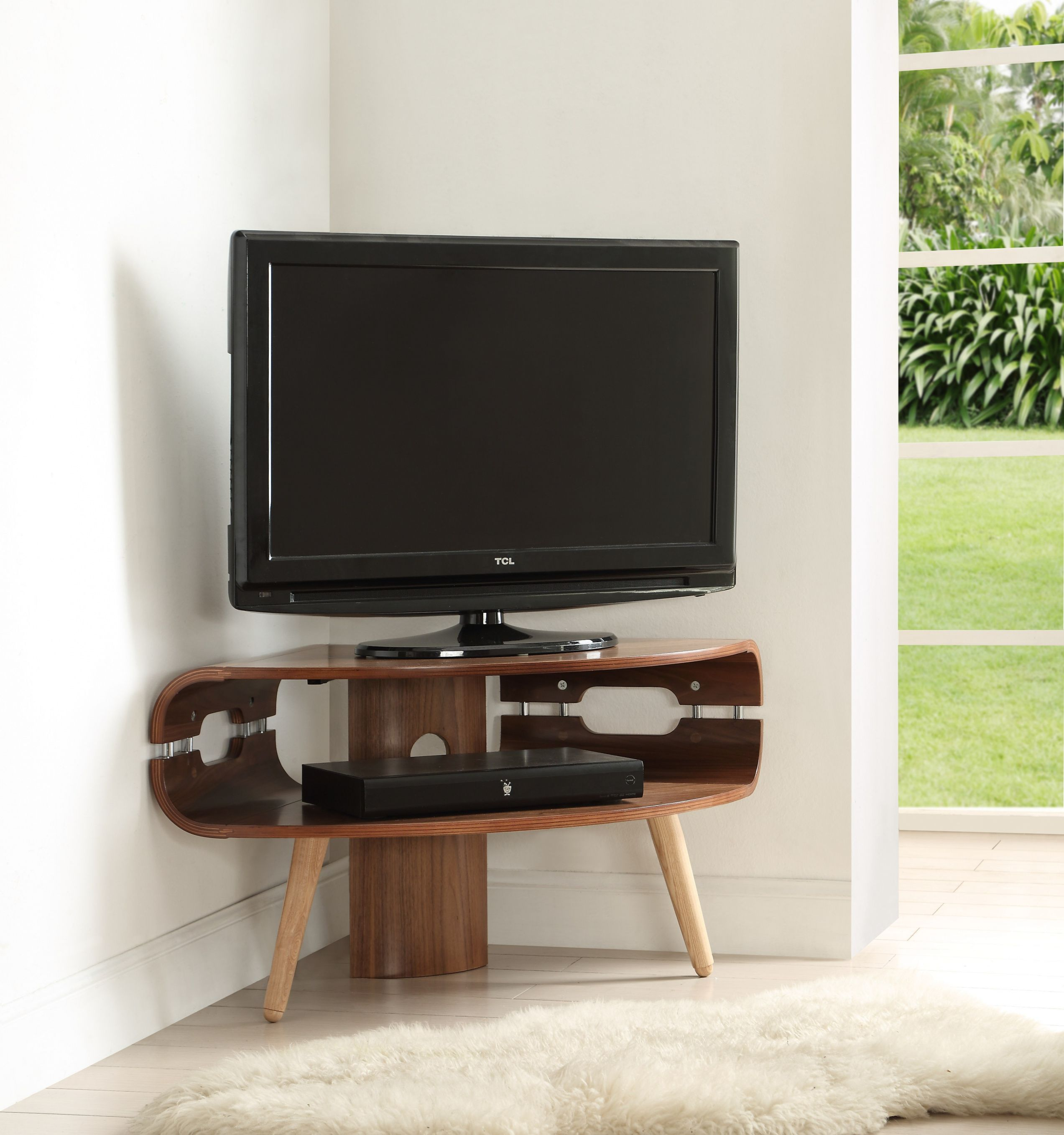 Small Corner Tv Cabinets Best Interior Paint Brand Check More At  # Meuble Tele Noir Mat