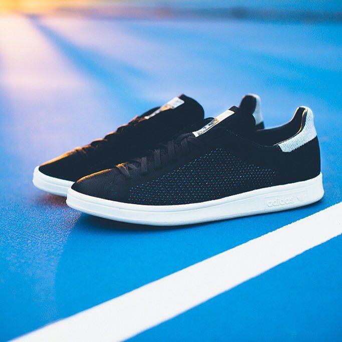 Adidas Originali Stan Smith Nere Primeknit: Scarpe Nere Smith Pinterest d71d29
