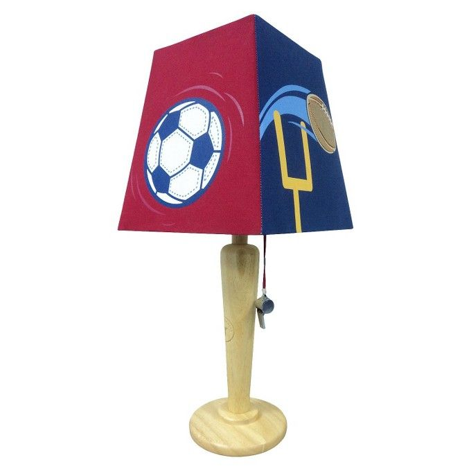 Circo Sports Table Lamp Table Lamp Lamp Sports Themed Bedroom