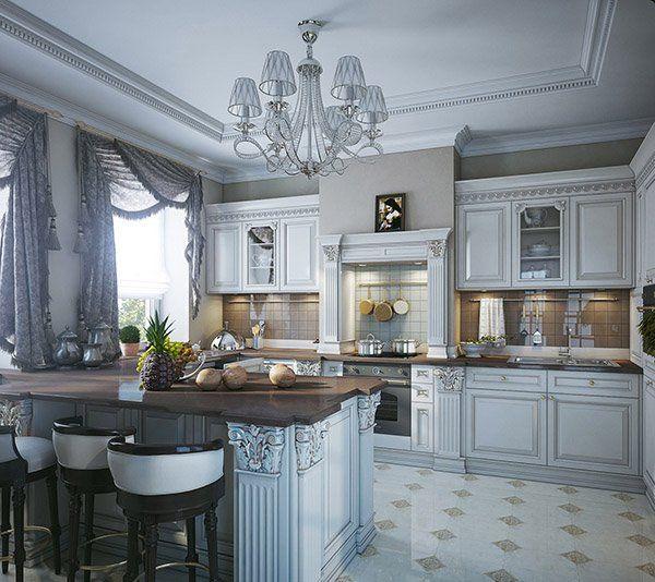 21 Victorian Style Kitchen Design And Ideas: 15 Lovely Kitchen Curtain Ideas