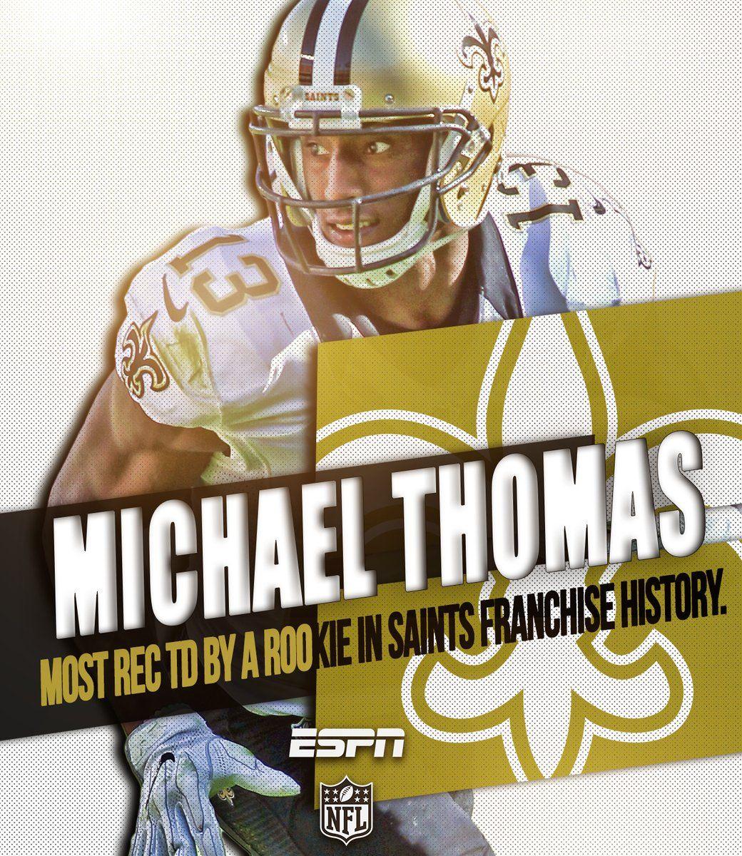 Michael thomas 2016 new orleans saints football nfl