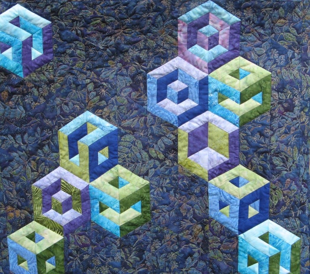In this quick tutorial from Easy Strip-Pieced Tumbling Blocks by ...