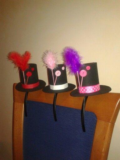 Sombreros de copa para fiesta.  ee780ff2a0d
