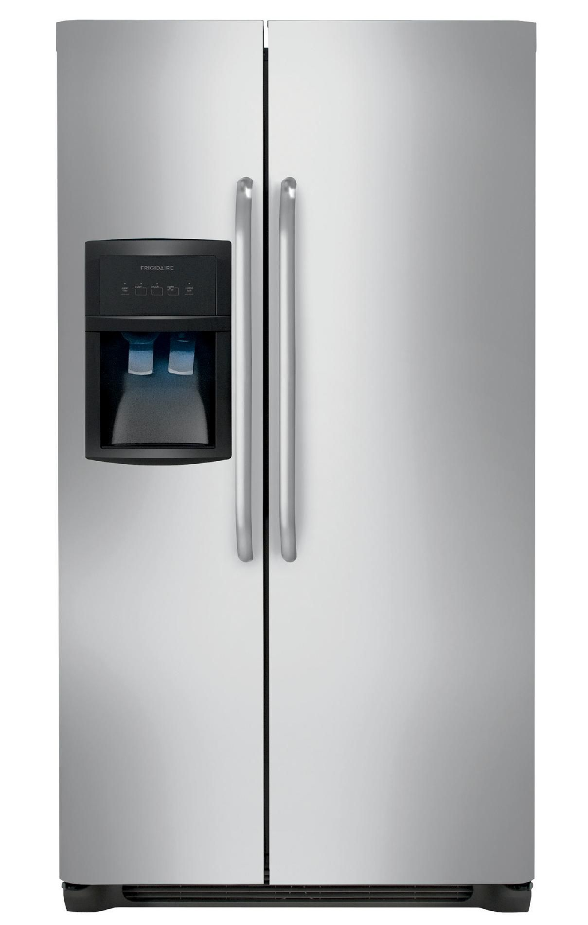 Frigidaire 22.6 cu. ft. Side-by-Side Refrigerator - Stainless Steel ...