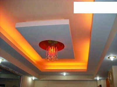 False Ceiling Pop Designs With LED Ceiling Lighting Ideas For Living Room  Part 1 Part 78