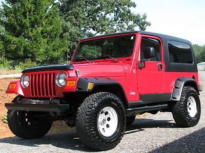 2005 Jeep Wrangler Unlimited Sport Utility 2 Door 4 0l Hatchback Cars Trucks For Sale 2005 Jeep Wrangler