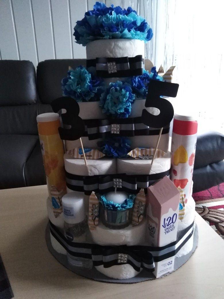 Tort Z Papieru Toaletowego Cake Diaper Cake Diaper