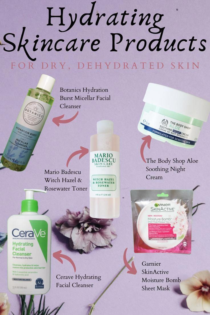 Five Hydrating Skin Care Products To Combat Dry Skin - Demi Joie -   15 skin care Masks remedies ideas