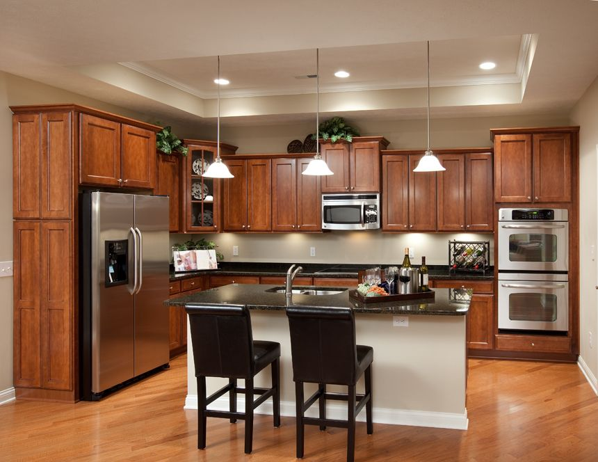Deluxe Kitchen With Center Island Stainless Steel