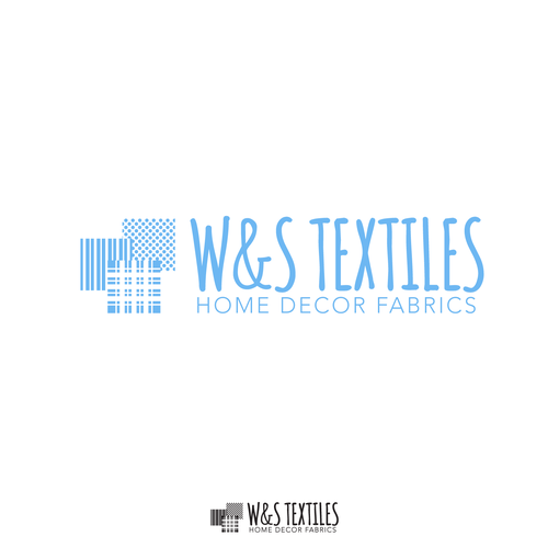 WS Textiles Home Decor Fabric Store needs logo Retail Logo