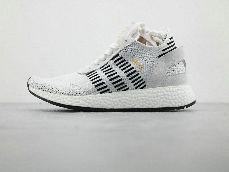 57508626883 adidas INIKI Runner Boost PK Grey Black Running Boost adidas For Sale