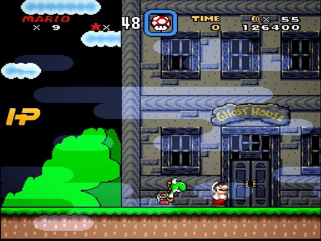 Super Mario World  #supermario #supernintendo #snes #nintendo #game #vintagegames #retrogames