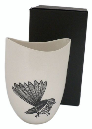 Jo Luping Design : Porcelain Vessel - Fantail Cheeky