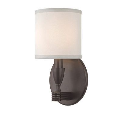 Hudson Valley Lighting Bancroft 1 Light Wall Sconce Finish: Old Bronze