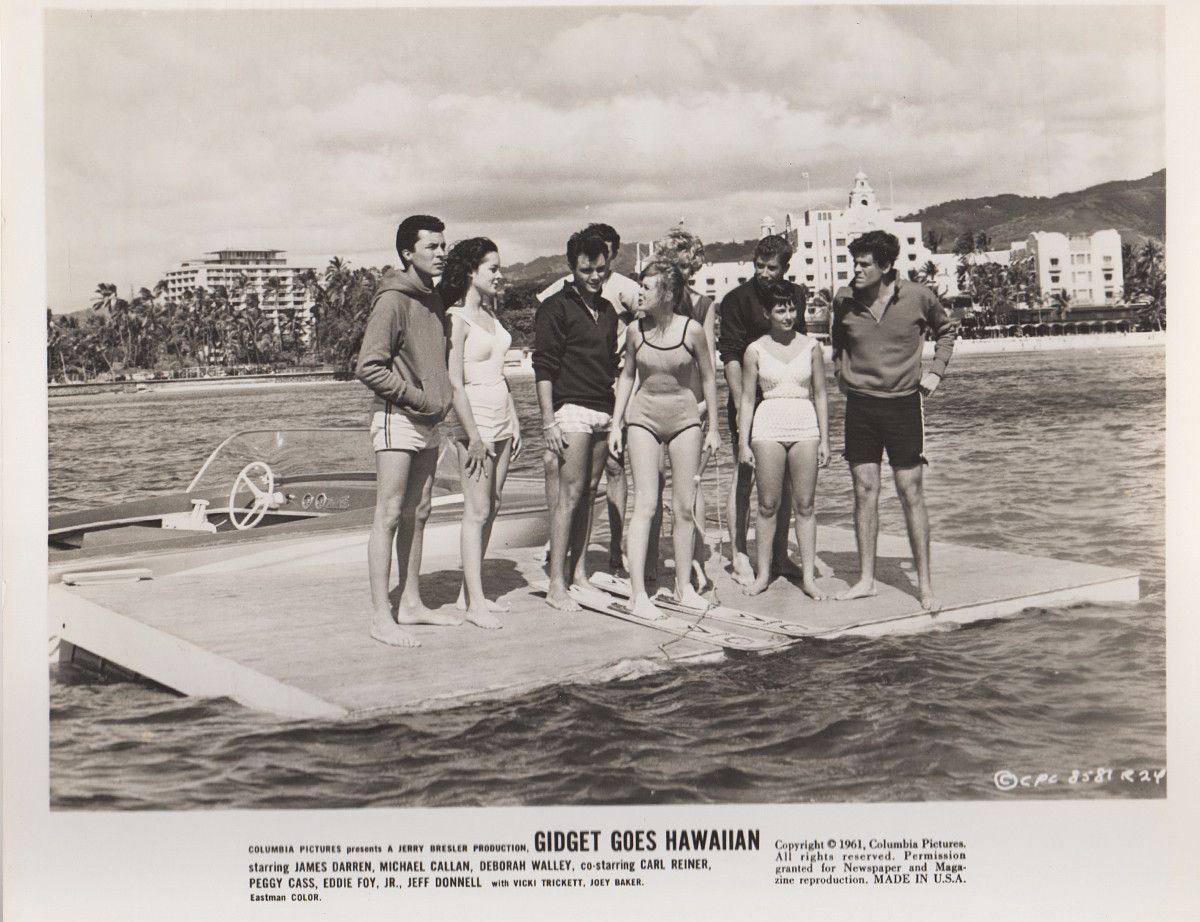 Original 'Gidget Goes Hawaiian' 1961 Movie Publicity Photo ...