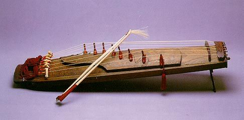 Asian musical instruments zithers pics 468