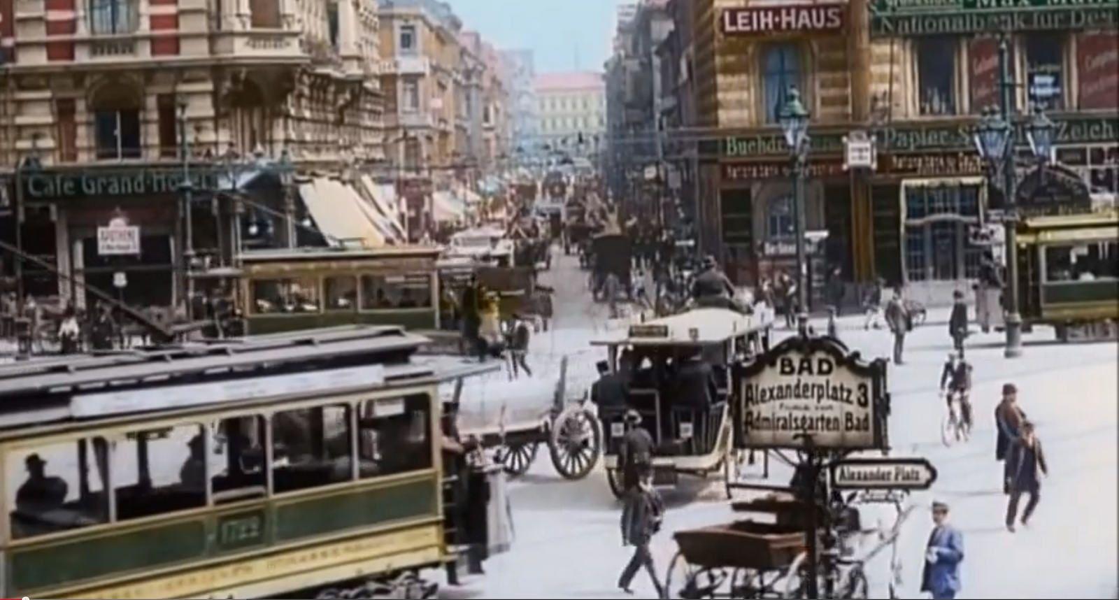 Berlin Alexanderplatz Berlin Berlin Germany Vintage Film