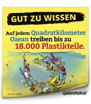 Auf jedem Quadratkilometer Ozean treiben bis zu 18.000 Plastikteile