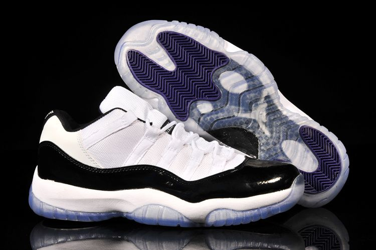 81350ee0b29 Jordan 11 Low White Black Cheap Jordan 11 Low For Cheap Sale ...