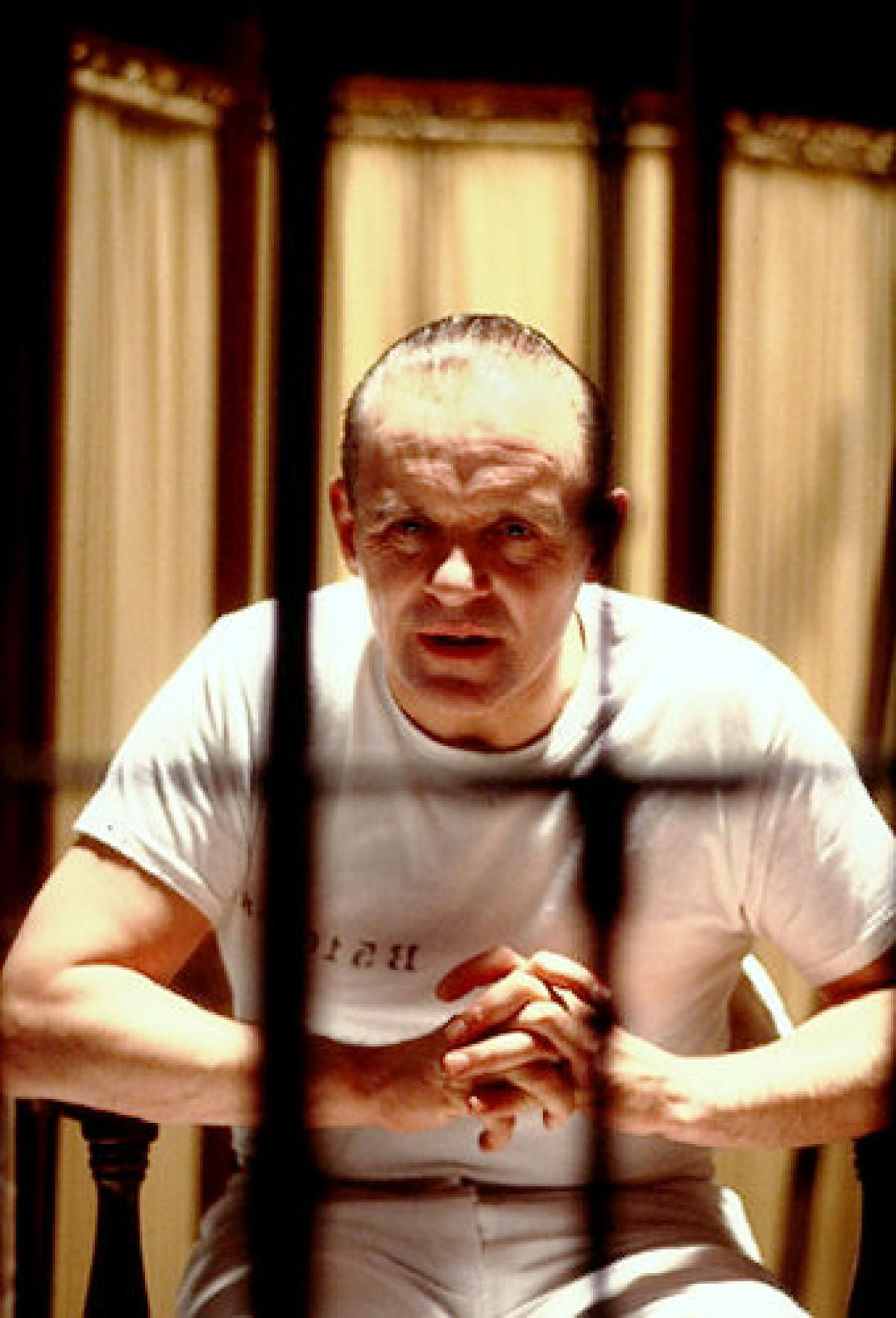Anthony Hopkins as Hannibal Lecter in The Silence Of The