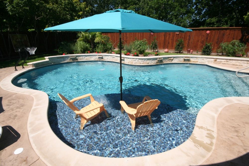 ft worth custom pool design photos weatherford keller freeform pool leuders coping arbor. Black Bedroom Furniture Sets. Home Design Ideas