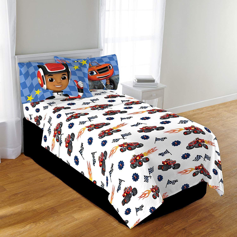 Nickelodeon Blaze Fast Track Twin Comforter