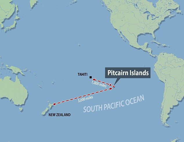 Remote The Pitcairn Islands Are The Last British Territory In The - Pitcairn island one beautiful places earth