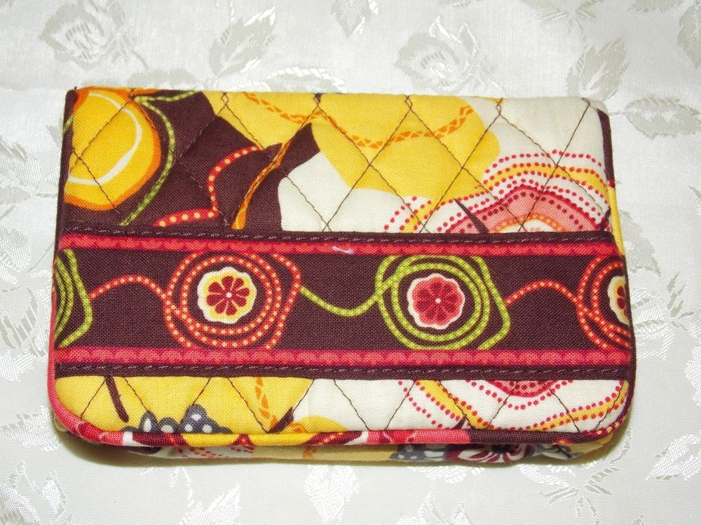 Vera Bradley Buttercup 11354-068 One for the Money Wallet NWT Multicolor BIN $15 #VeraBradley #OneforthemoneyWallet