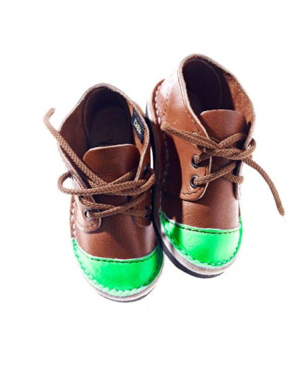 Neon Green Toe Cap Mini