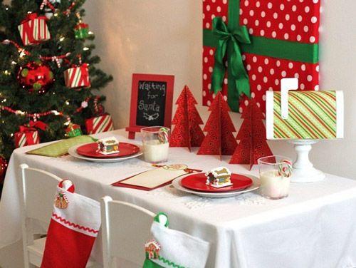 mesas navideas modernas vestidos de fiesta mesa navidea pinterest