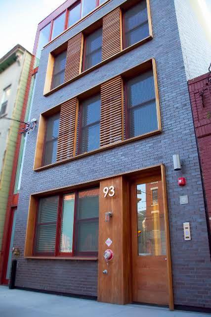 Modern Brick Apartment Building dark brick dark grout - google search | work/precedent/3+t