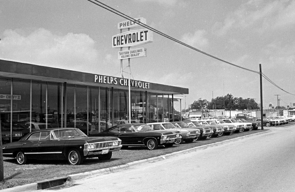 Phelps Chevrolet 1967 Chevrolet Dealership Chevy Dealerships