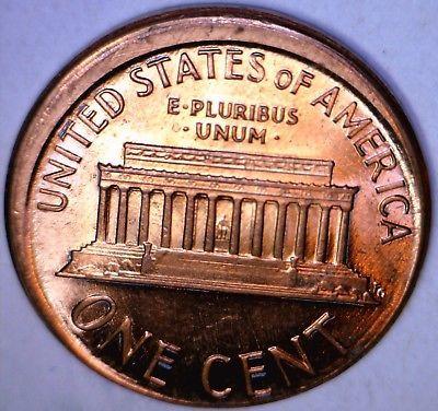 Error Errorcoins 1987 Off Center Error Lincoln Cent Coin Ch Bu Broadstruck Penny A No Reserve Error Coins Coins Error