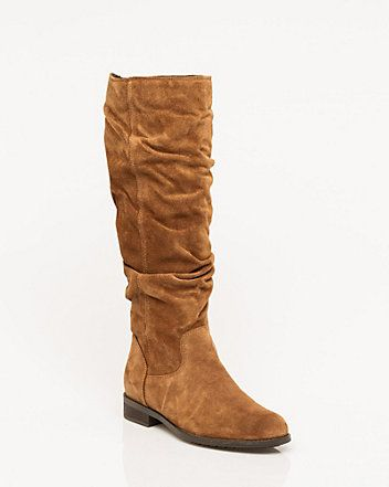 Le Château: Italian-Designed Suede Knee-High Boot