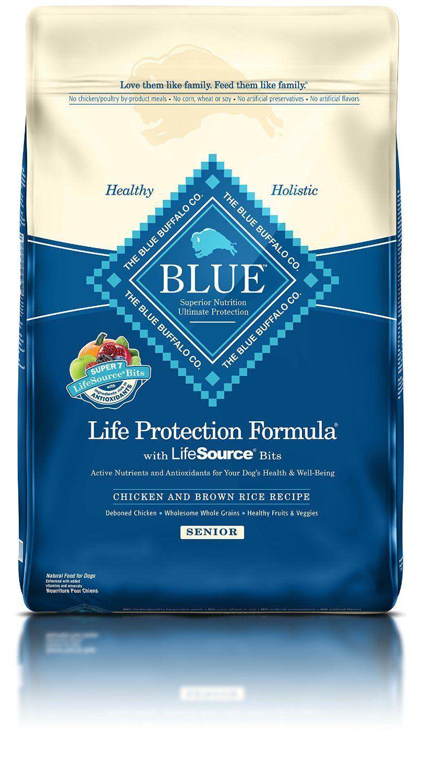Blue buffalo life protection dry senior dog food trust
