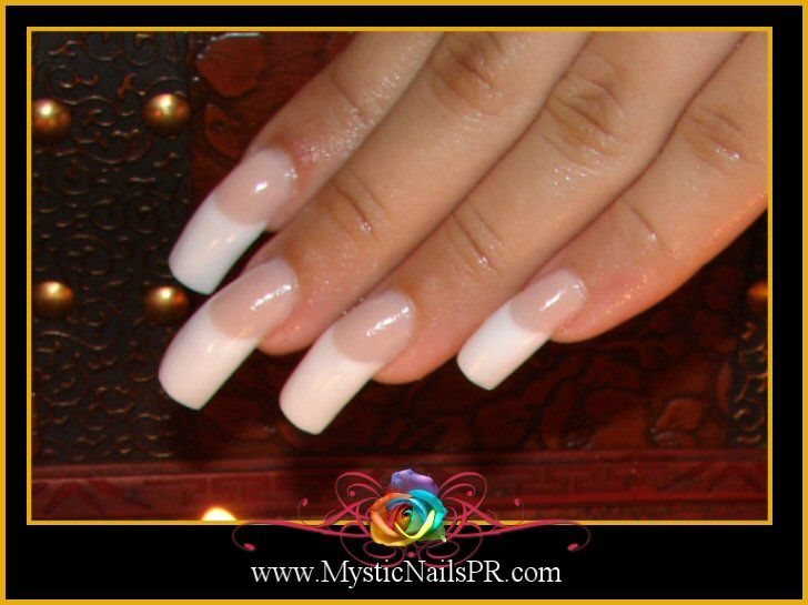 Curved Acrylic Nails Mystic Nail Art Education Products