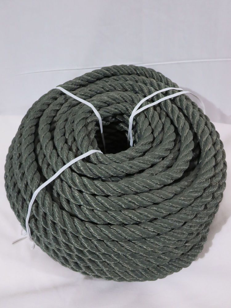 Military heavy duty nylon rope 1 2 x 120 feet od green Simplisafe z wave