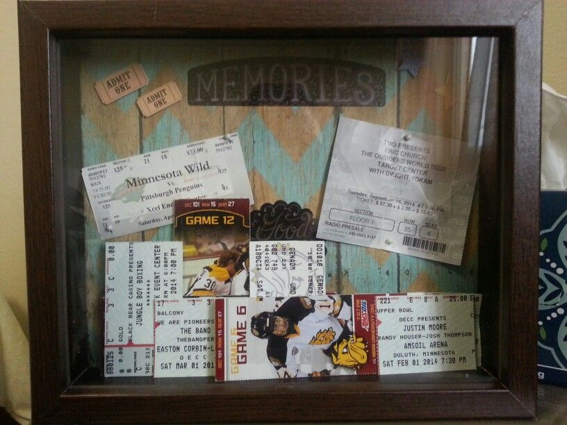 Found A Genius Idea To Make A Shadow Box Customize It With Old