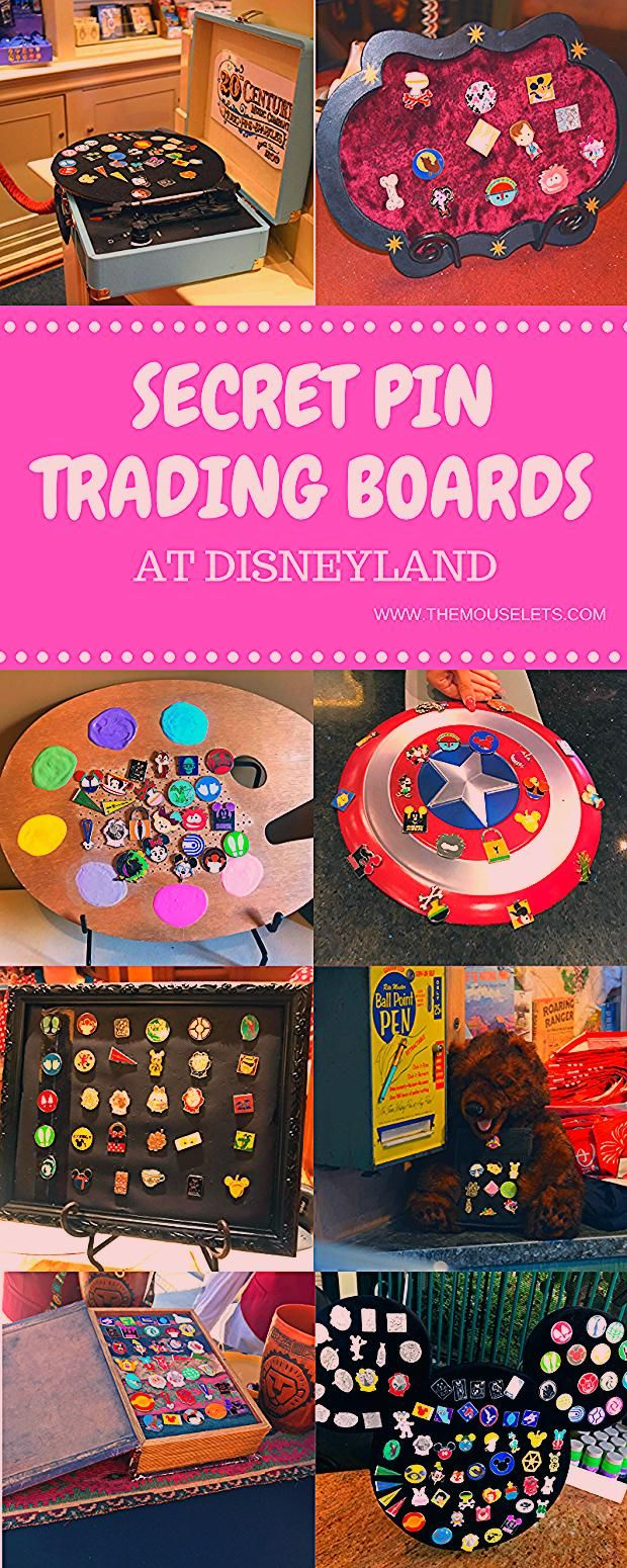 Secret Pin Trading Locations at Disneyland | The Mouselets