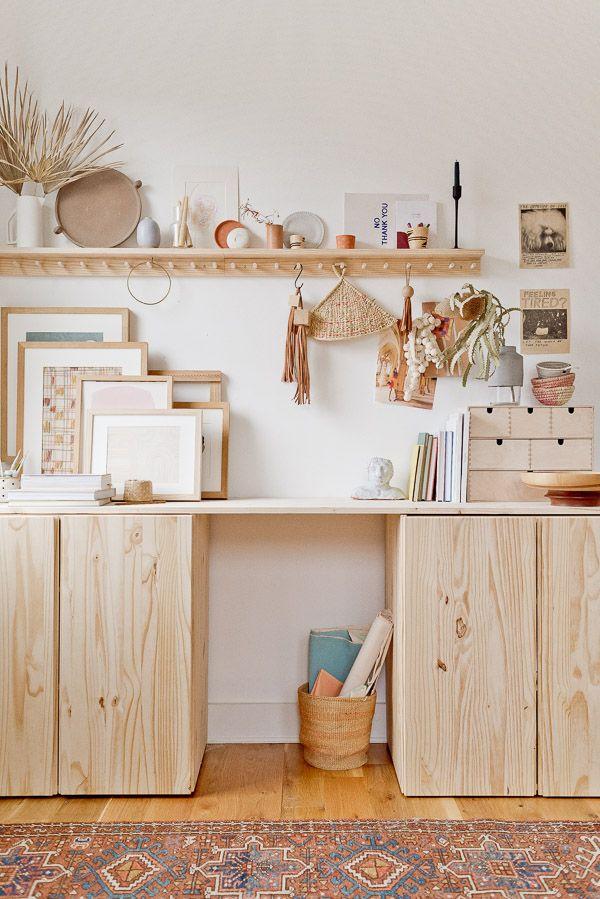 How to Make a DIY Standing Desk (IVAR Ikea Hack)