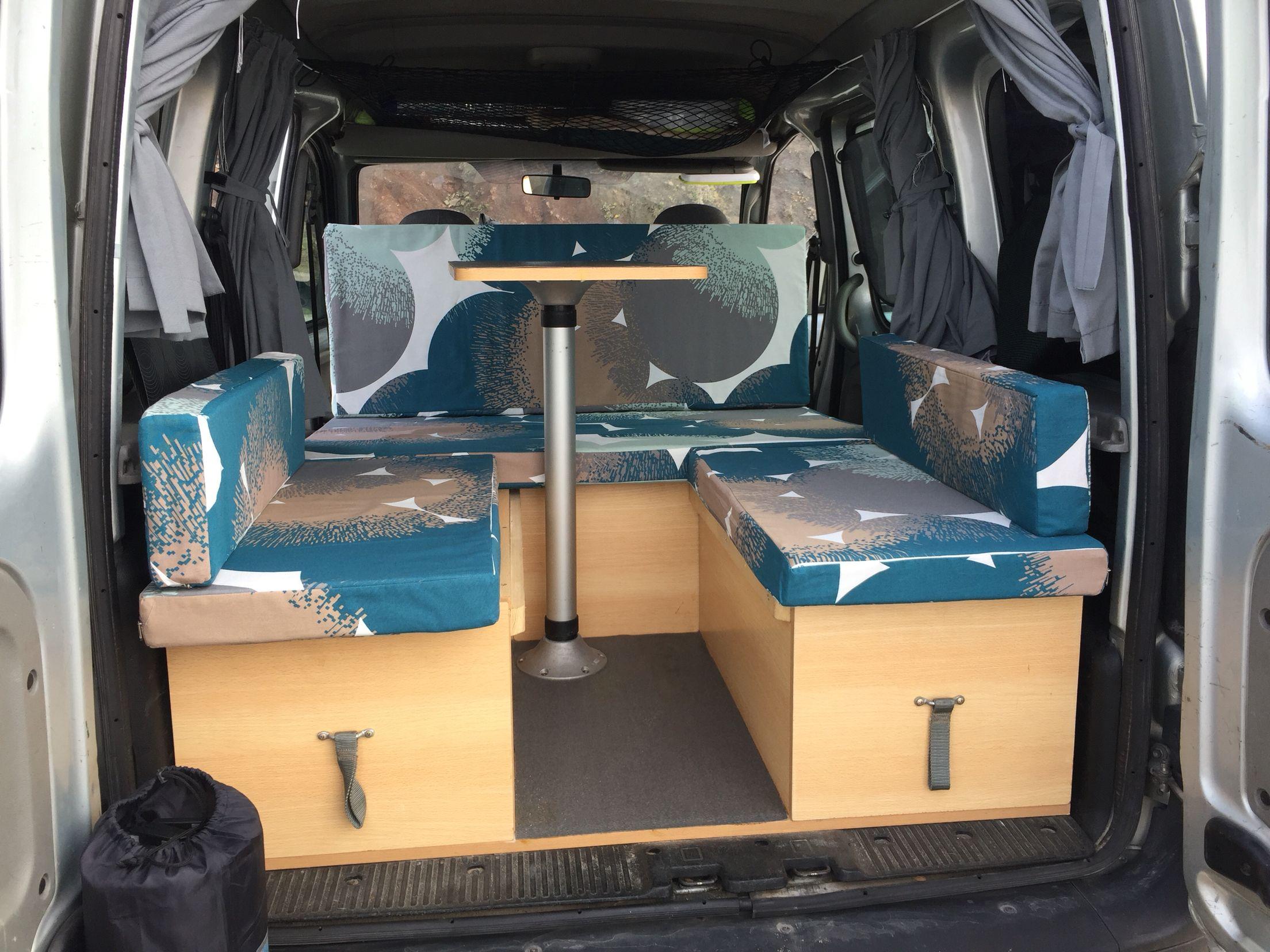 my kangoo camper interior vans. Black Bedroom Furniture Sets. Home Design Ideas