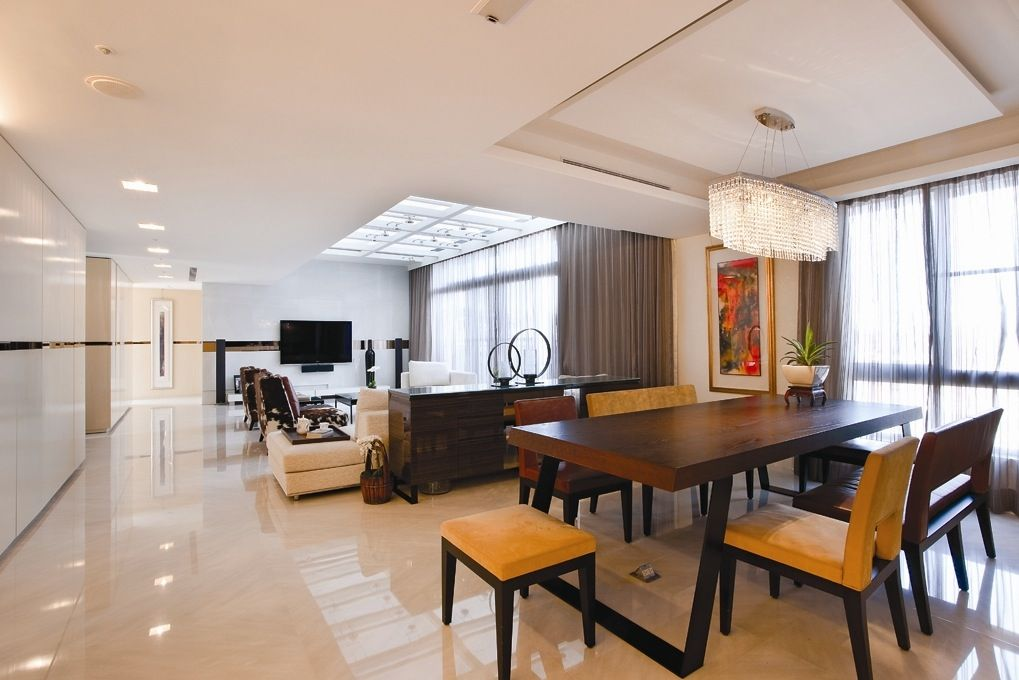 Contemporary Home Design Ideas Looks Charming With Perfect Pleasing Open Plan Lounge Kitchen Dining Room Ideas Design Decoration