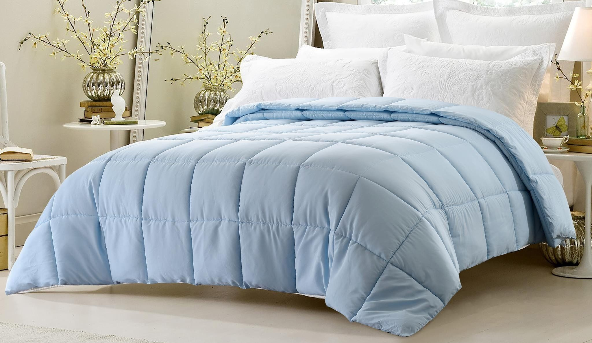Super Oversized High Quality Down Alternative Comforter Fits Pillow