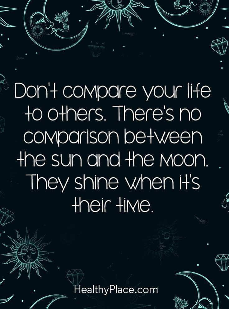 Best Inspirational Quotes About Life QUOTATION U2013 Image : Quotes Of The Day  U2013 Life Quote Positive Quote: Donu0027t Compare Your Life To Others.