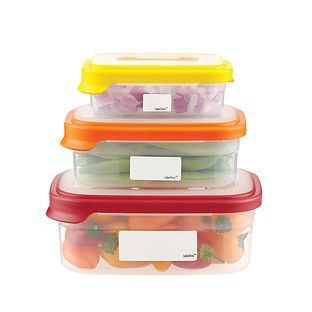 Erasable Food Storage Labels  sc 1 st  Pinterest & Erasable Food Storage Labels | Food storage Container store and Storage